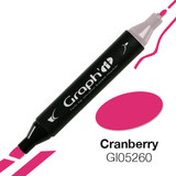 Graph'it alcohol based marker 5260 - Cranberry