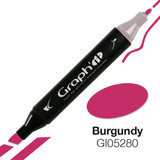 GRAPH'IT Alcohol based marker 5280 - Burgundy