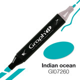 Graph'it Alcohol Chisel Marker 7260 - Indian Ocean