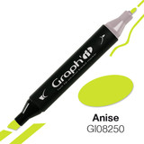 Graph'it Alcohol Chisel Marker 8250 - Anise