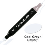Graph'it Alcohol Chisel Marker 9101 - Cool Grey 1