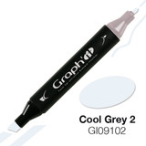 Graph'it Alcohol Chisel Marker 9102 - Cool Grey 2