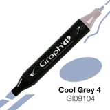 Graph'it Alcohol Chisel Marker 9104 - Cool Grey 4