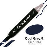 Graph'it Alcohol Chisel Marker 9109 - Cool Grey 9