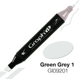 Graph'it Alcohol Chisel Marker 9201 - Green Grey 1