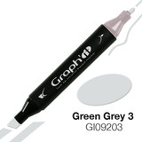 Graph'it Alcohol Chisel Marker 9203 - Green Grey 3