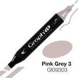 Graph'it Alcohol Chisel Marker 9303 - Pink Grey 3