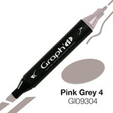 Graph'it Alcohol Chisel Marker 9304 - Pink Grey 4