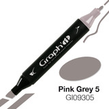 Graph'it Alcohol Chisel Marker 9305 - Pink Grey 5