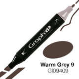 Graph'it Alcohol Chisel Marker 9409 - Warm Grey 9