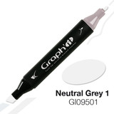 Graph'it Alcohol Chisel Marker 9501 - Neutral Grey 1