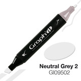 Graph'it Alcohol Chisel Marker 9502 - Neutral Grey 2