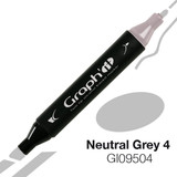 Graph'it Alcohol Chisel Marker 9504 - Neutral Grey 4