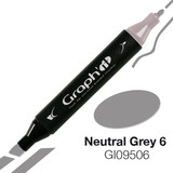 Graph'it Alcohol Chisel Marker 9506 - Neutral Grey 6
