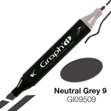 Graph'it Alcohol Chisel Marker 9509 - Neutral Grey 9