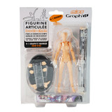 Miss GRAPH'IT Poseable Figure Set for drawing + 1 Graph'it Marker