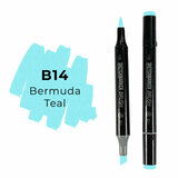 Sketchmarker Brush B14 Bermuda Teal
