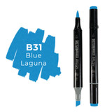 Sketchmarker Brush B31 Blue Laguna