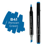 Sketchmarker Brush B41 Persian Green