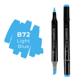 Sketchmarker Brush B72 Light Blue
