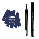 Sketchmarker Brush B80 Wave Blue