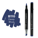 Sketchmarker Brush B110 Deep Blue