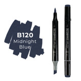 Sketchmarker Brush B120 Midnight Blue