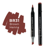 Sketchmarker Brush BR31 Brown Henna
