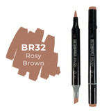 Sketchmarker Brush BR32 Rosy Brown