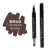 Sketchmarker Brush BR40 Vandyke Brown