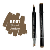 Sketchmarker Brush BR51 Burnt Umber
