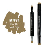 Sketchmarker Brush Pro Color: Earth Yellow