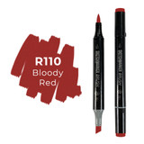 Sketchmarker Brush Pro Alcohol Marker,  Bloody Red