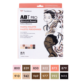 ABT PRO Set, People Palette, 12pk