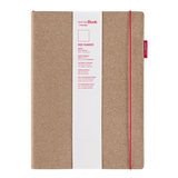 senseBook 8x11 Red Rubber Blank