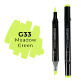 Sketchmarker Brush Pro Alcohol Marker,  Meadow Green