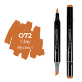 Sketchmarker Brush Pro Color: Clay Brown