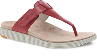 Cece Red Burnished Leather