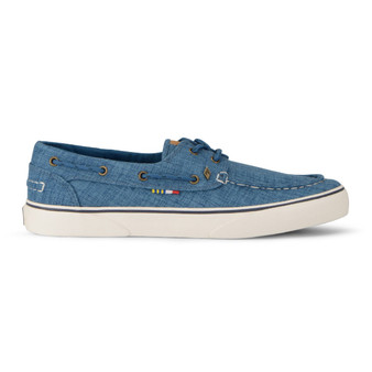 Gulf Canvas Boat Shoe Womens Blue