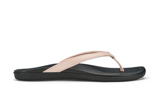 Ho'opio Flip-flop Petal Pink Metallic/Black