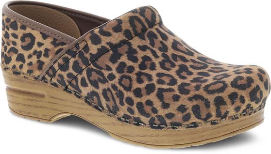 Professional Leopard Suede