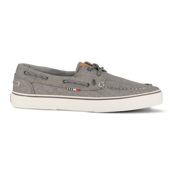 Gulf Canvas Boat Shoe Womens Grey