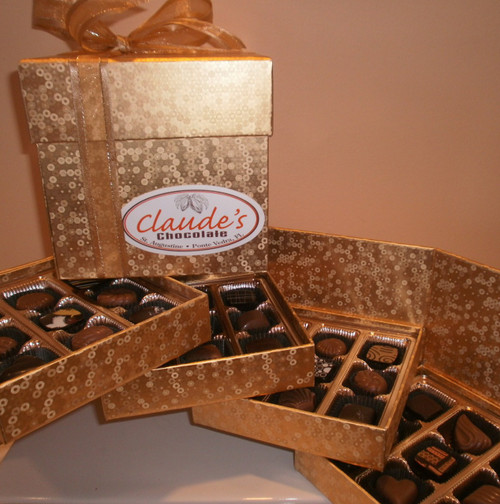 36-PIECE TIERED BONBON GIFT COLLECTION