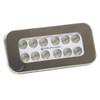 Aqualuma Flush Mount Spreader Light 12 LED - Stainless Steel Bezel [SL12FMS]