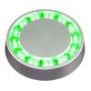 Lopolight Low Profile Deck Light - Green - Flush Mount [400-128]