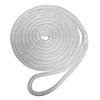 "Robline Premium Nylon Double Braid Dock Line - 1\/2"" x 25 - White [7181934]"
