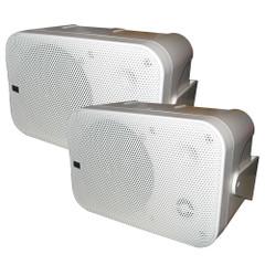 PolyPlanar Box Speakers - (Pair) White [MA9060W]