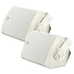 PolyPlanar MA7500W Compact Box Speaker - (Pair) White [MA7500W]