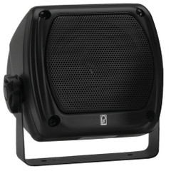 PolyPlanar Subcompact Box Speaker - (Pair) Black [MA840B]