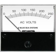 Blue Sea 9354 AC Analog Voltmeter 0-250 Volts AC [9354]